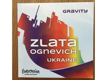 Promo-CD Rom; Zlata Ognevich - Gravity, Eurovision Song Contest 2013