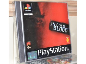 IN COLD BLOOD - NY- Playstation 1 - pal -PS1 - NORDIC!!