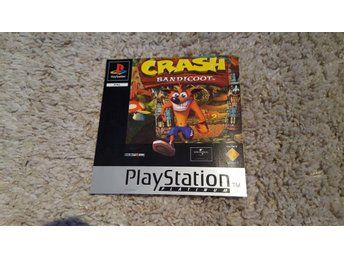 PS1 PAL (reservdel) Crash Bandicoot Frontlayer