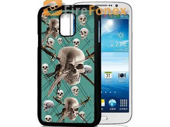 Galaxy S5/Skull/3D mobilskal/mobilskydd - Solna - Galaxy S5/Skull/3D mobilskal/mobilskydd - Solna