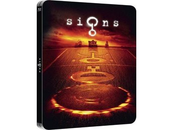 SIGNS (Limited Steelbook) Mel Gibson, M Night Shyamalan (Sjukt fin!) RARE