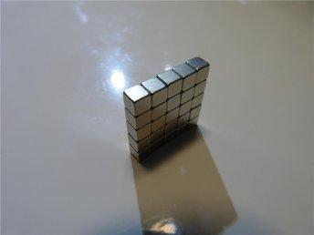 25 st Neodymium magneter storlek 3x3x3mm - Tyresö - 25 st Neodymium magneter storlek 3x3x3mm - Tyresö