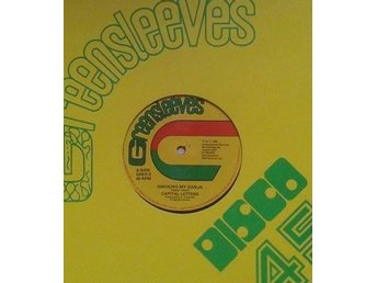 Capital Letters title*  Smoking My Ganja* Roots Reggae UK 12""