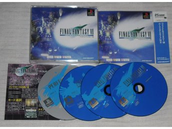PlayStation/PS1: Final Fantasy VII 7 International (japanskt)