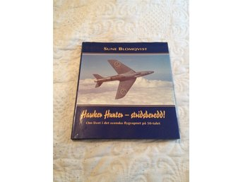 Hawker Hunter -Stridsberedd Minnesbok Sune Blomqvist