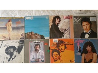 Paket med 8 lp -70-80-tals-Billy Swan,Donna Summer,John&Anne Ryder, Kim L