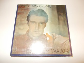 JERRY JEFF WALKER - Five Years Gone, Reel-To-Reel Rullband ATCO USA NY!