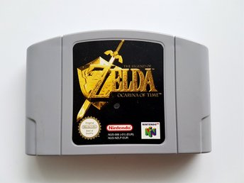 The Legend of Zelda Ocarina of Time - N64 - PAL - ENG