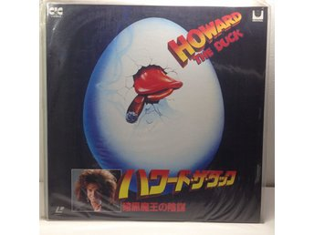 Howard the Duck, Marvel (George Lucas) Laserdisc 1LD B8-06