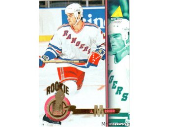 1994-95 Pinnacle 497 Joby Messier ROO New York Rangers