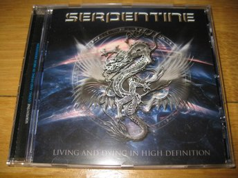 SERPENTINE - Living and dying in high definition CD 2011