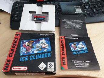Ice Climber - NES Classic Nintendo Game Boy Advance Bersala