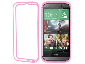 HTC One M8 TPU Bumper Rosa