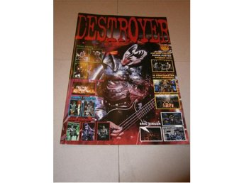 Destroyer (KISS) - Super Poster Magazine #1 - Nyskick!