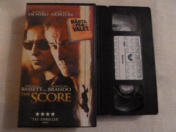 THE SCORE,   VHS, FILM