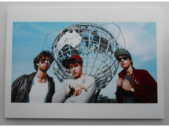BEASTIE BOYS - 'Licensed To Ill' Outtake, NYC 1986 - Bak - *A4*-print NME!