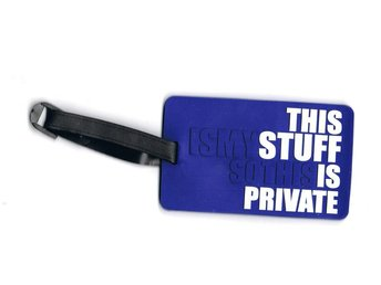 THIS IS MYSTUFF Bagagetag / Addresstag / Luggage tag