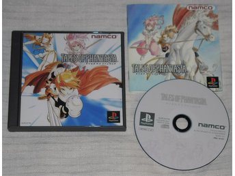 PlayStation/PS1: Tales of Phantasia (japanskt)