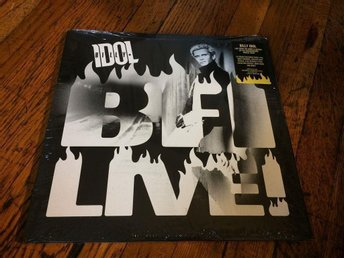 BILLY IDOL BFI Live! 3-LP 2016 US RSD Black Friday Exclusive Numbered (#48) RARE - West Hollywood - BILLY IDOL BFI Live! 3-LP 2016 US RSD Black Friday Exclusive Numbered (#48) RARE - West Hollywood