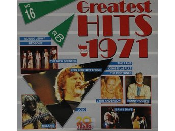 Diverse artister, Greatest Hits of 1971 (2CD)