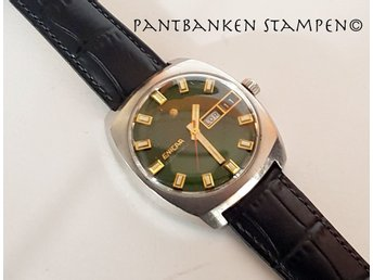 1 fin vintage Enicar Automatic cal 167 1970-tal Ø 37mm, V13229
