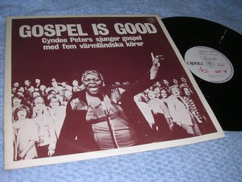 Cyndee Peters - Gospel Is Good (LP) EX/VG+