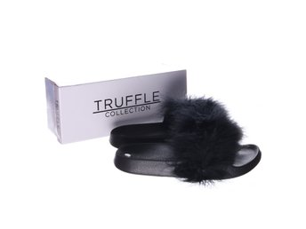 Truffle Collection, Tofflor, Strl: 40, Svart