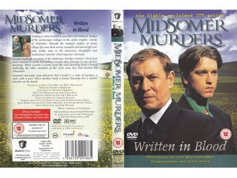 Midsomer Murders Written in Blood 1997 DVD