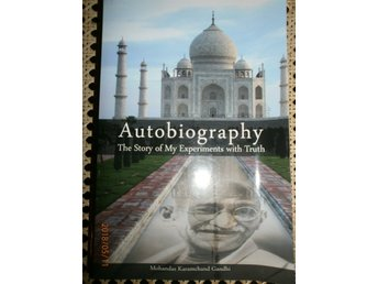 AUTOBIOGRAPHY THE STORY OF MY EXPERIMENTS WITH TRUTH Gandhi Engelska böcker