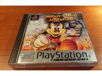 Mickeys Wild Adventure - PS1 / Playstation 1
