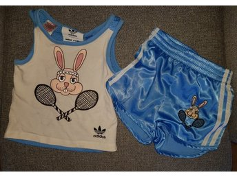 Mini Rodini Adidas Set. Shorts Linne.