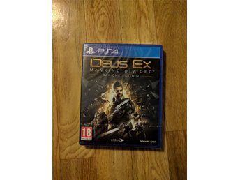 Deus Ex Day One Edition - Ps4