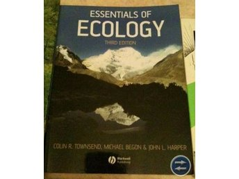 FRI FRAKT & NYTT SKICK: The Essentials of Ecology, 3e upplagan