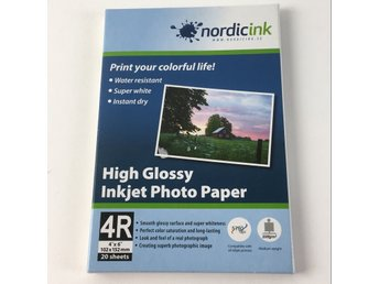 NordicInk, Fotopapper
