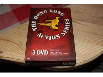 THE HONG KONG ACTION SERIES - DVD BOX