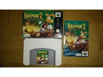 Nintendo 64: Rayman 2: The Great Escape