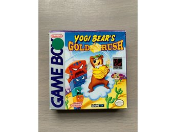 Game Boy GB: Yogi Bear's Gold Rush USA