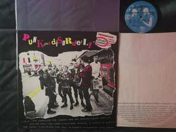 PUNK AND DISORDERLY FURTHER CHARGES UK 1982 VINYL