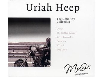 Uriah Heep: Defintive collection (Studio+Live) (CD)