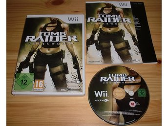 Wii: Tomb Raider Underworld