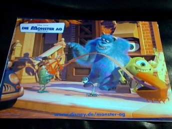 MONSTERS  INC Disney  ÅR 2001    FOTO   9