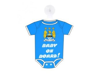 Manchester City Skylt Tröja Baby On Board