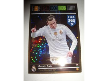 Panini Adrenalyn XL FIFA 365 - Limited Edition - GARETH BALE - Real Madrid