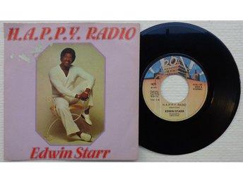 "EDWIN STARR 'H.a.p.p.y. Radio' 1979 Norwegian 7"" - Bröndby - EDWIN STARR 'H.a.p.p.y. Radio' 1979 Norwegian 7"" - Bröndby"
