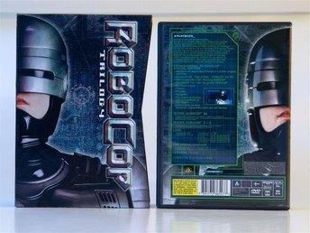 DVD Robocop BOX med filmerna Robocop, Robocop 2 och Robocop 3 - Hässelby - DVD Robocop BOX med filmerna Robocop, Robocop 2 och Robocop 3 - Hässelby
