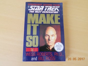 STAR TREK The Next Generation - Leadership Lessons Pocket Books USA 1996