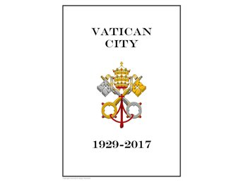 VATICAN CITY 1929 - 2017 PDF (DIGITAL) STAMP ALBUM PAGES INGA FRIMÄRKEN!!!