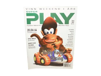 "Super Play December 1997 ""Diddy Kong Racing"""
