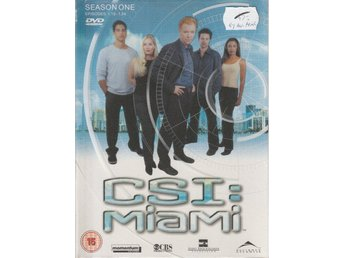 CSI: Miami - Säsong 1.1-1.12 Box - 3-DVD Eng