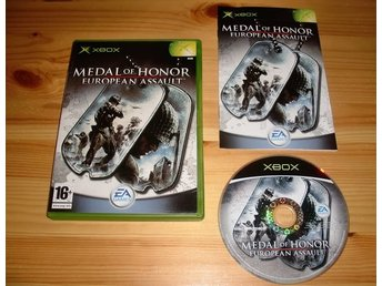 Xbox: Medal of Honor European Assault